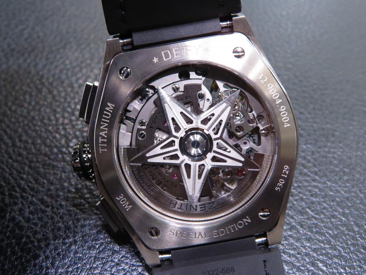 IMG_2368 ベゼルにダイヤを贅沢に使用したブティックだけの特別限定モデル!「デファイ エル・プリメロ21」 - DEFY