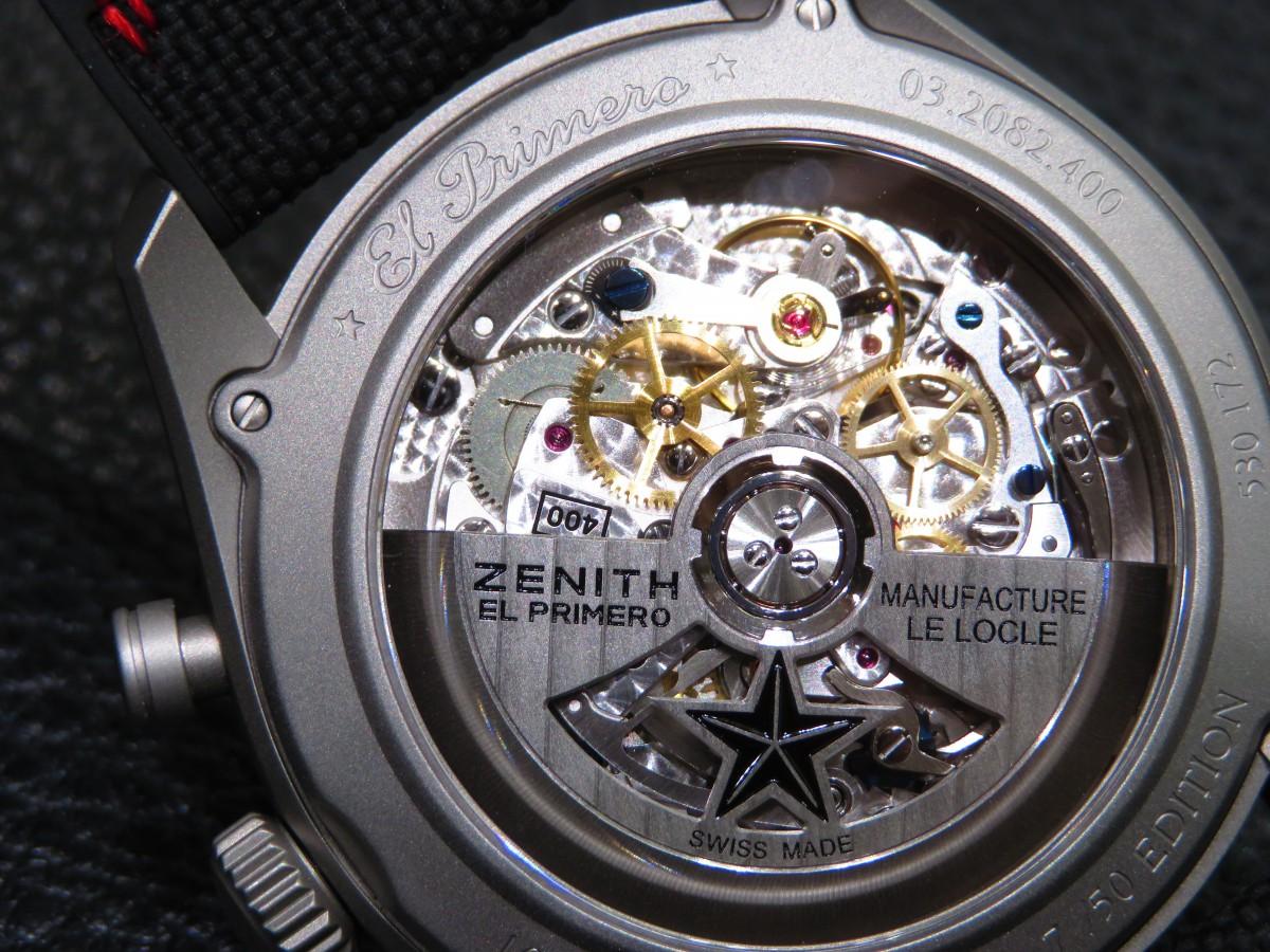 ブティック限定50本!ゼニスの伝統とモダンなデザインが見事に融合した「エル・プリメロ レイダー」 - CHRONOMASTER  IMG_2473