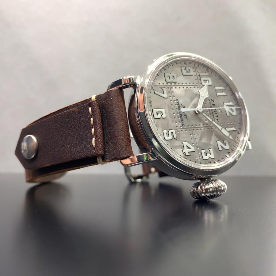 IMG_6957 シルバー925を使用した時計!?【パイロットタイプ20 エクストラスペシャル シルバー】 - PILOT