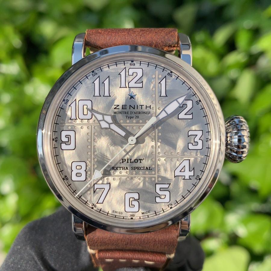 IMG_6969 シルバー925を使用した時計!?【パイロットタイプ20 エクストラスペシャル シルバー】 - PILOT