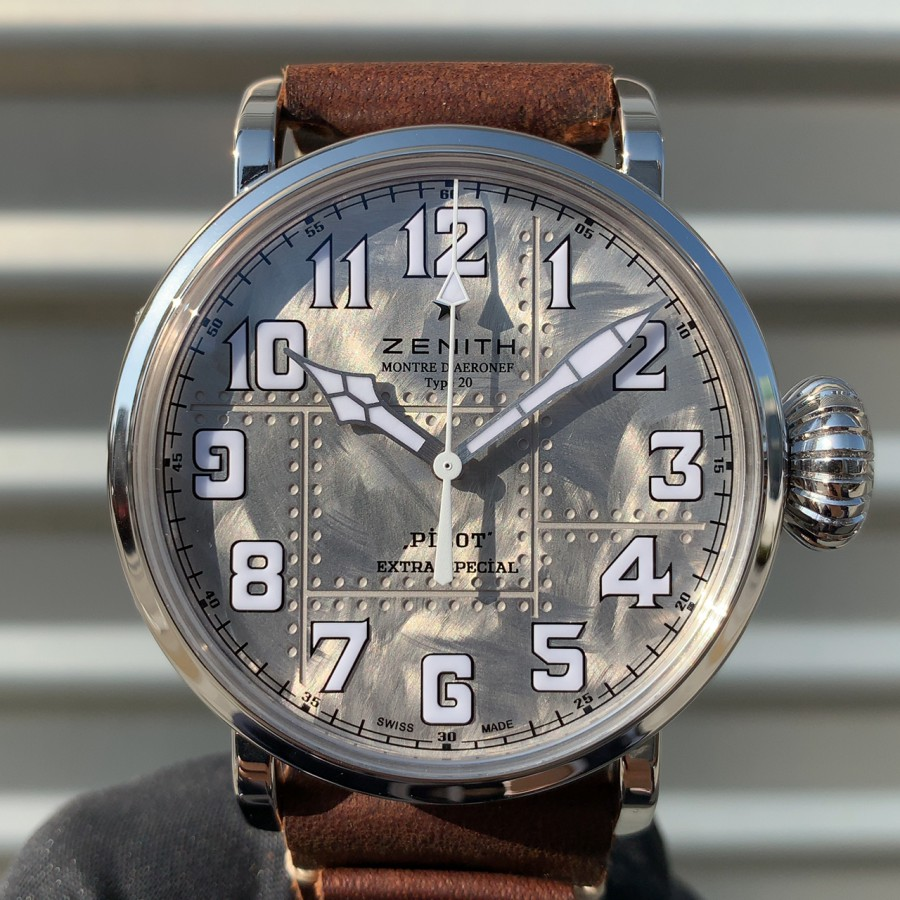 IMG_6971 シルバー925を使用した時計!?【パイロットタイプ20 エクストラスペシャル シルバー】 - PILOT
