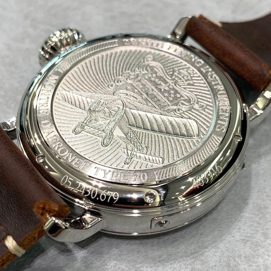IMG_6974 シルバー925を使用した時計!?【パイロットタイプ20 エクストラスペシャル シルバー】 - PILOT