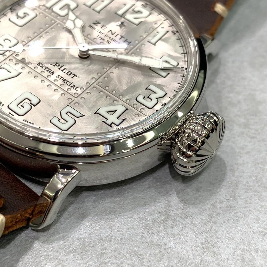 IMG_6975 シルバー925を使用した時計!?【パイロットタイプ20 エクストラスペシャル シルバー】 - PILOT