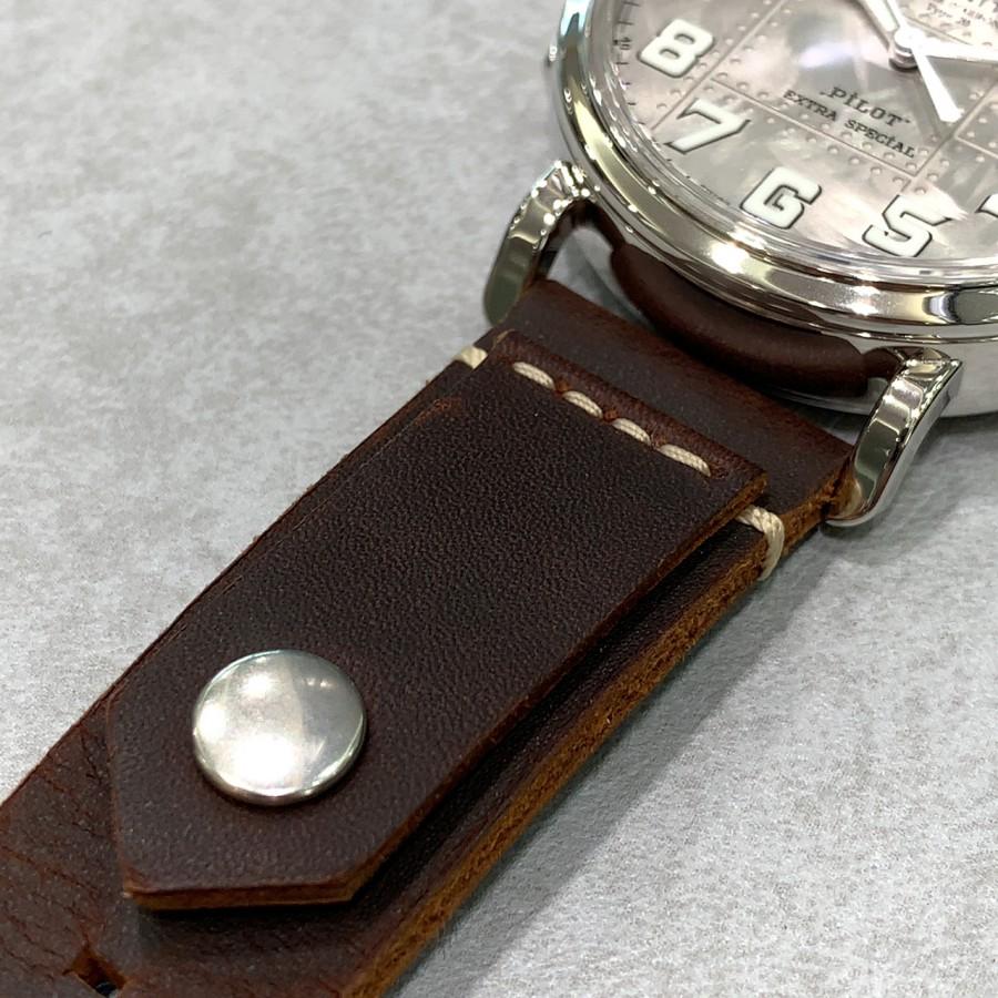 IMG_6976 シルバー925を使用した時計!?【パイロットタイプ20 エクストラスペシャル シルバー】 - PILOT