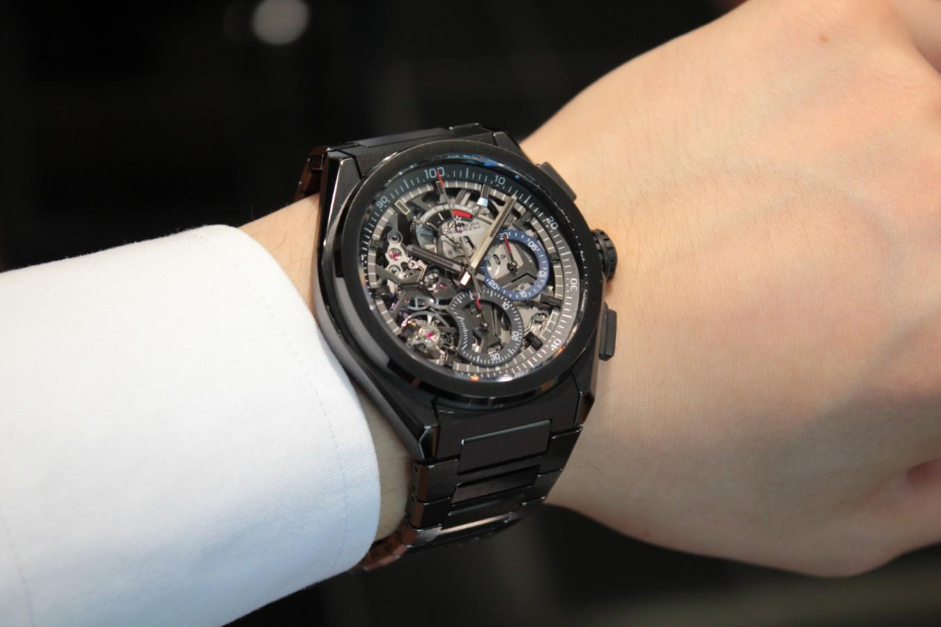 IMG_2752 高級感のあるブラックモデル【デファイ エル・プリメロ21】 - DEFY