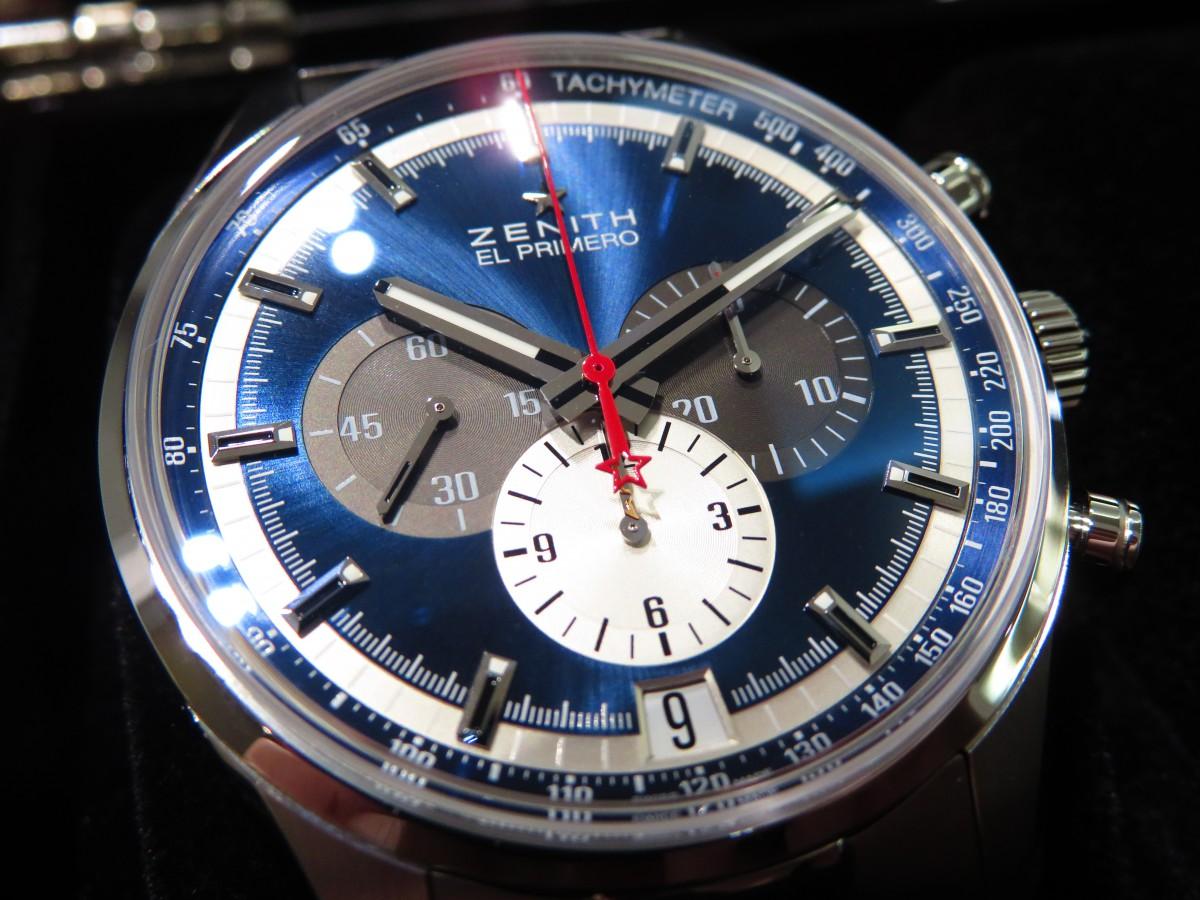 IMG_3154 ブルーの1969ダイヤルがカッコいい!オンオフ使える「エル・プリメロ 42㎜」 - CHRONOMASTER