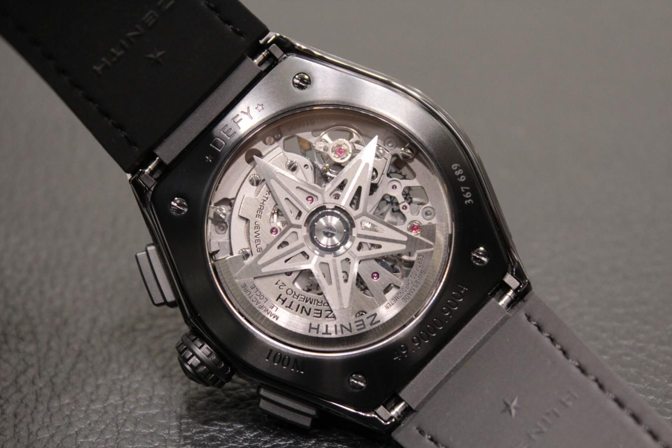 IMG_3750 オールブラックの男前時計?「デファイ エル・プリメロ21」ブラックセラミックモデル! - DEFY