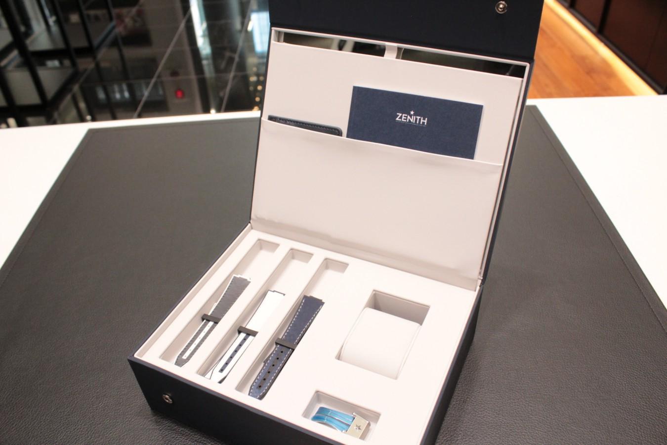 IMG_4620 ゼニスの2020年新作レディースモデル「デファイ ミッドナイト」が入荷! - DEFY