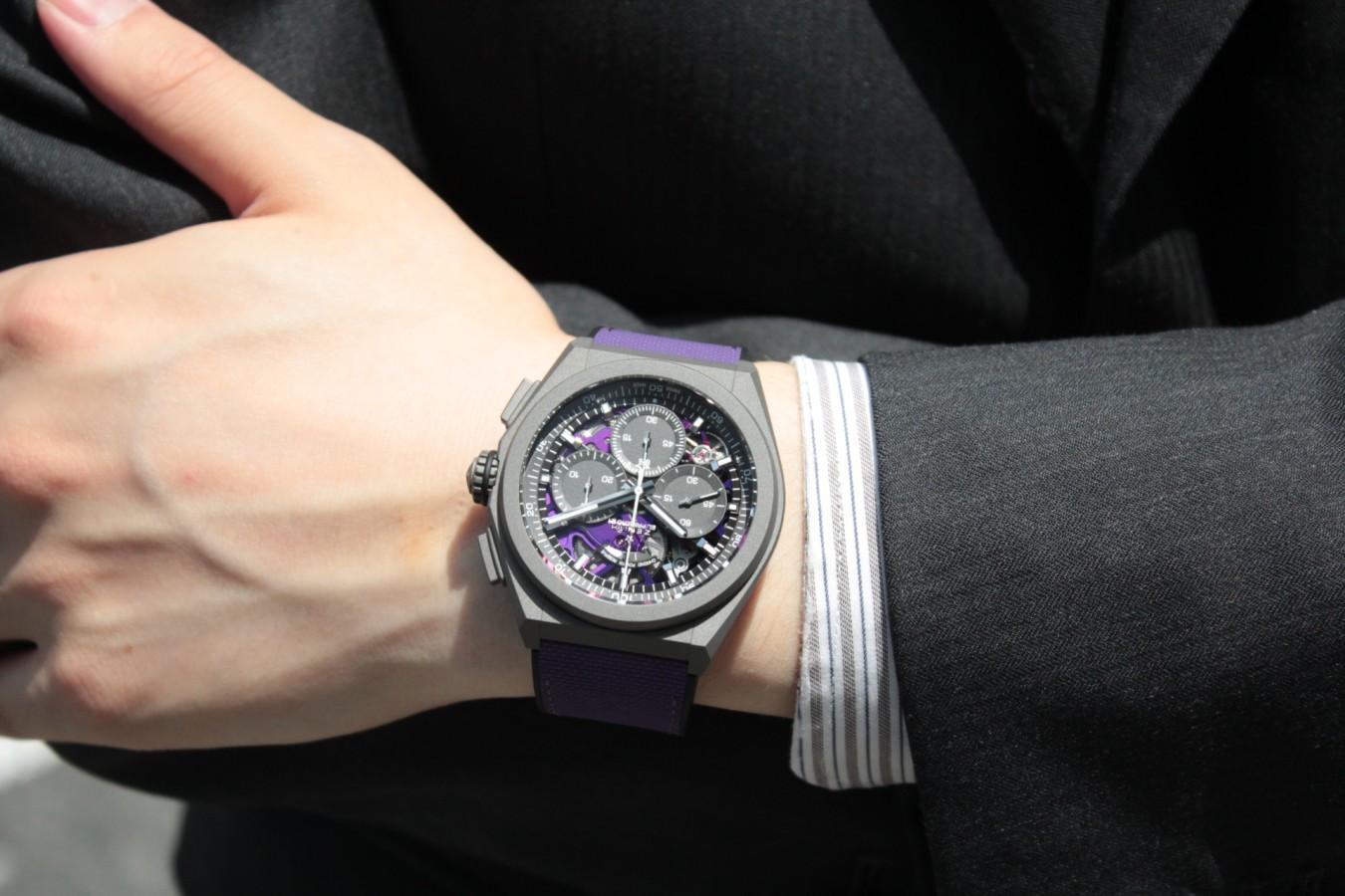 紫色が美しい!2020年新作「デファイ エル・プリメロ21 ULTRA VIOLET」入荷しました!! - DEFY |IMG_4791