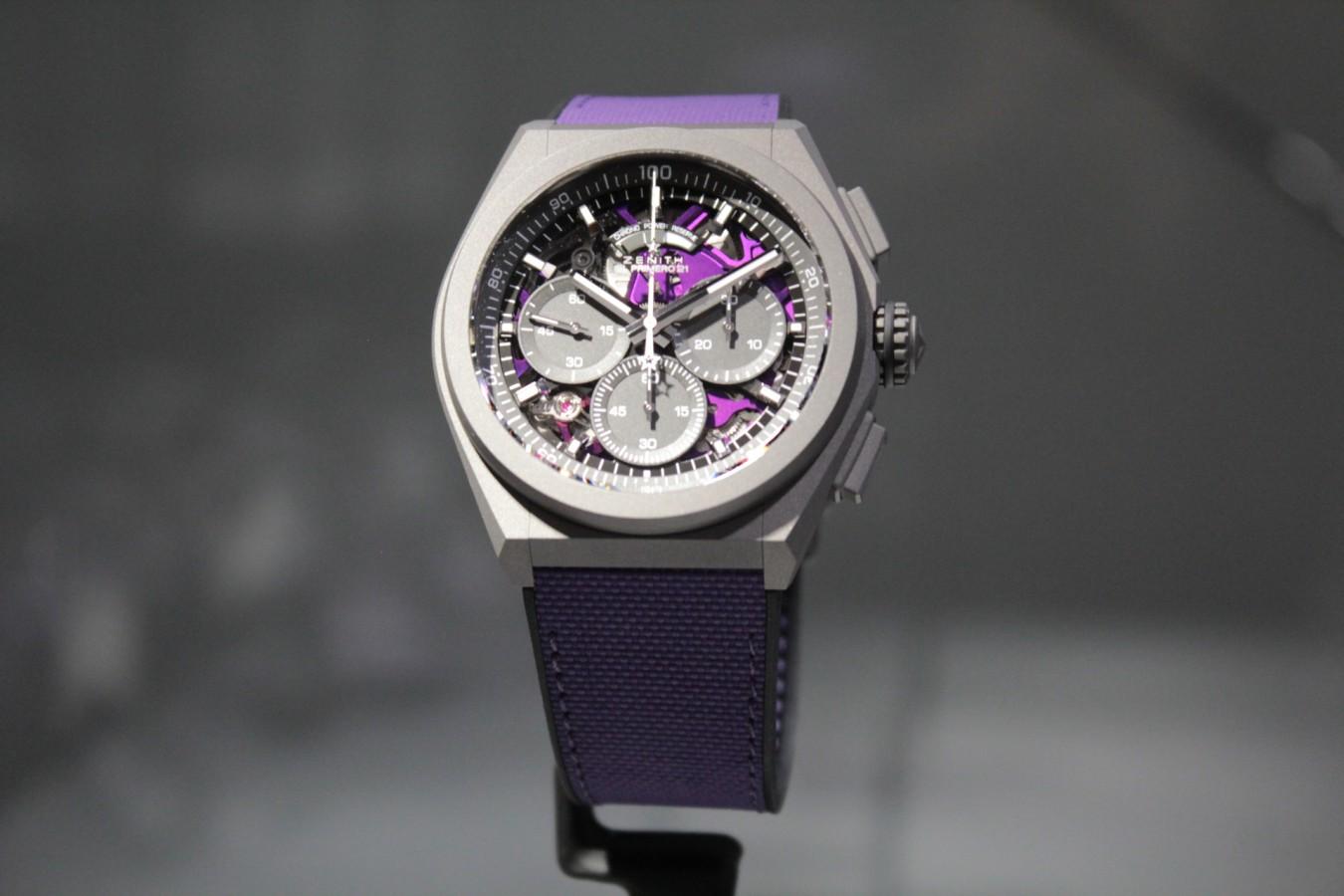 IMG_4799 紫色が美しい!2020年新作「デファイ エル・プリメロ21 ULTRA VIOLET」入荷しました!! - DEFY