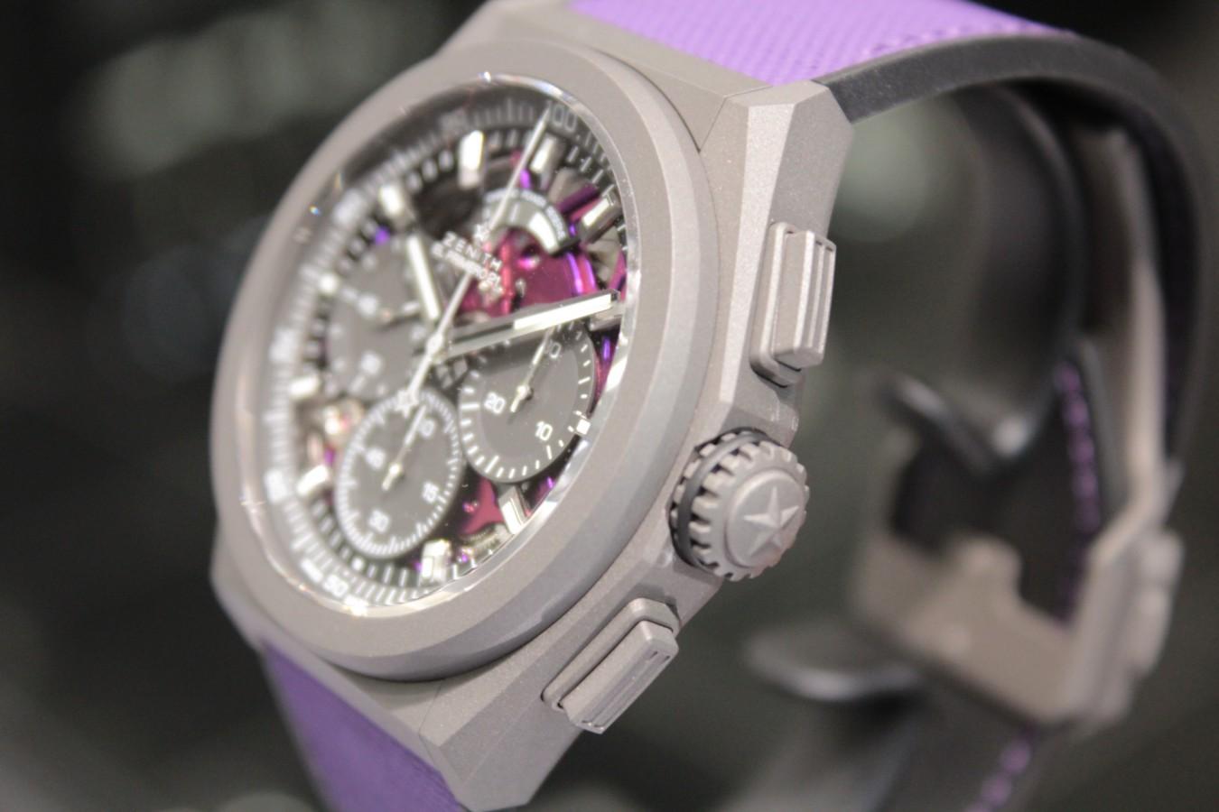 IMG_4810 紫色が美しい!2020年新作「デファイ エル・プリメロ21 ULTRA VIOLET」入荷しました!! - DEFY