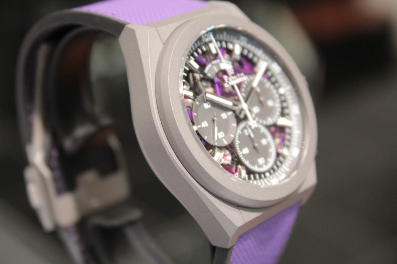 IMG_4811 紫色が美しい!2020年新作「デファイ エル・プリメロ21 ULTRA VIOLET」入荷しました!! - DEFY