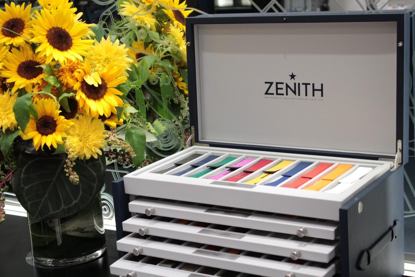IMG_4826 ゼニスの豪華なストラップボックスが入荷しました!現行モデルのストラップを色々ご覧頂けます。 - ベルト/ストラップ