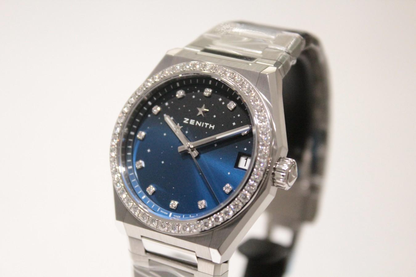 IMG_5142 新作「デファイ ミッドナイト」からダイヤモンドをあしらった綺麗なモデルが入荷しました! - DEFY