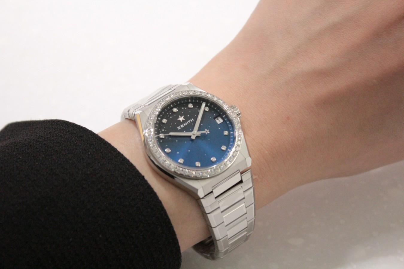 IMG_5144 新作「デファイ ミッドナイト」からダイヤモンドをあしらった綺麗なモデルが入荷しました! - DEFY