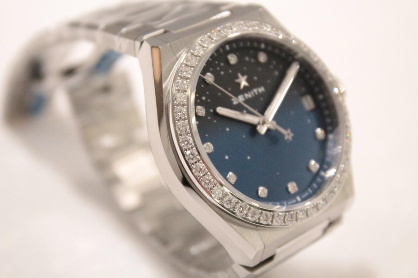 IMG_5146 新作「デファイ ミッドナイト」からダイヤモンドをあしらった綺麗なモデルが入荷しました! - DEFY