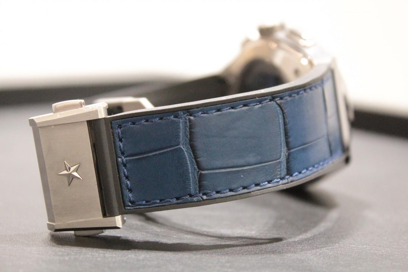 IMG_5196 M様の「デファイ エル・プリメロ21」ブルーモデルをビタミンカラーで華やかに! - ベルト/ストラップ お客様