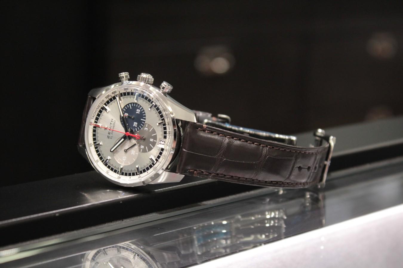 IMG_5941 1969年より続くゼニスが誇るデザイン。【エル・プリメロ 42mm】 - CHRONOMASTER