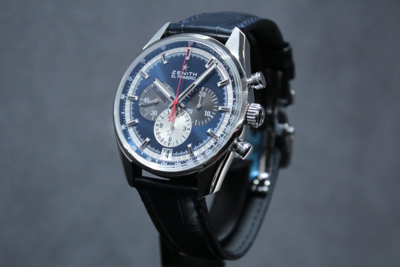 IMG_6259 ブルーダイヤルとマルチカラーが織りなす美しいコントラスト【エル・プリメロ 42mm】 - CHRONOMASTER