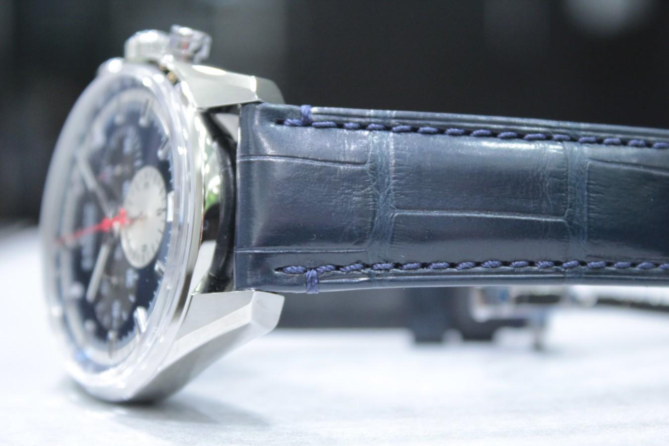 IMG_6272 ブルーダイヤルとマルチカラーが織りなす美しいコントラスト【エル・プリメロ 42mm】 - CHRONOMASTER