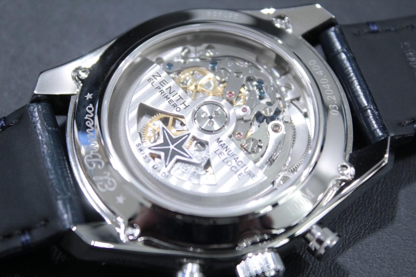 IMG_6281 ブルーダイヤルとマルチカラーが織りなす美しいコントラスト【エル・プリメロ 42mm】 - CHRONOMASTER