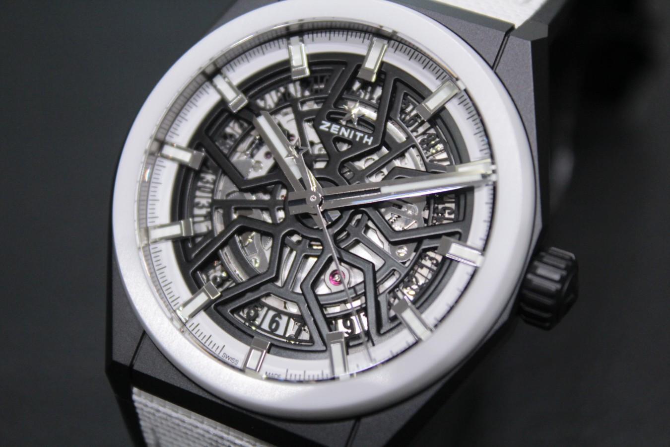 IMG_6333 今年最も注目すべきモデルの一つ!?世界100本限定の【デファイクラシック ブラック&ホワイト】 - DEFY