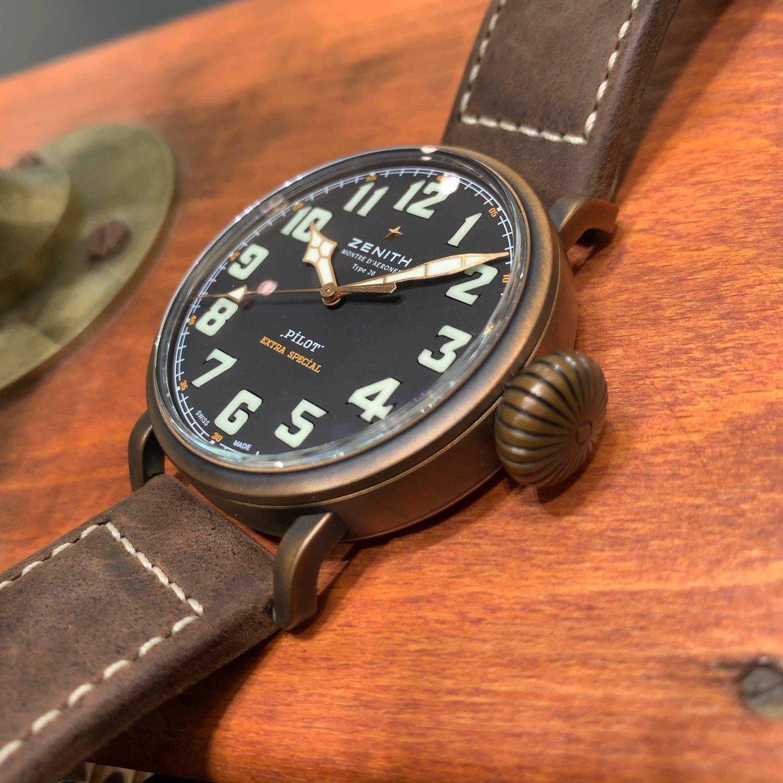 IMG_2346 自分だけの1本にできる時計「パイロット タイプ20 エクストラスペシャル ブロンズ」 - PILOT