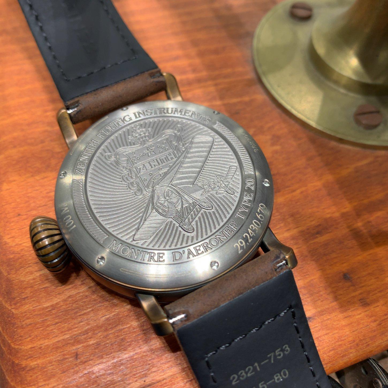 IMG_2348 自分だけの1本にできる時計「パイロット タイプ20 エクストラスペシャル ブロンズ」 - PILOT