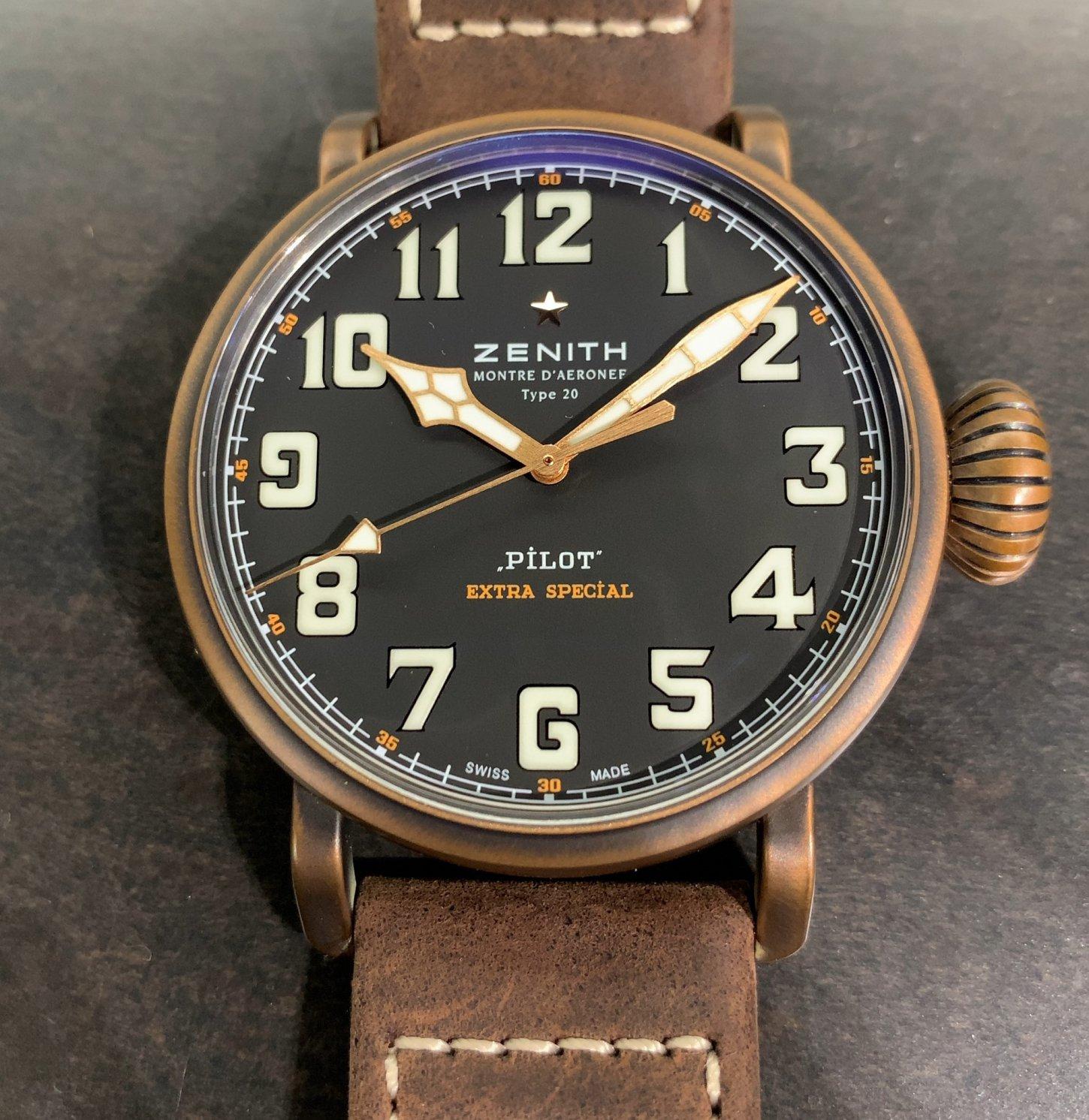 IMG_2352 自分だけの1本にできる時計「パイロット タイプ20 エクストラスペシャル ブロンズ」 - PILOT