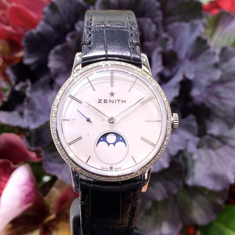 IMG_8280 大人の女性を引き立てる美しい腕時計『エリート ウルトラ シン レディ ムーンフェイズ』 - ELITE