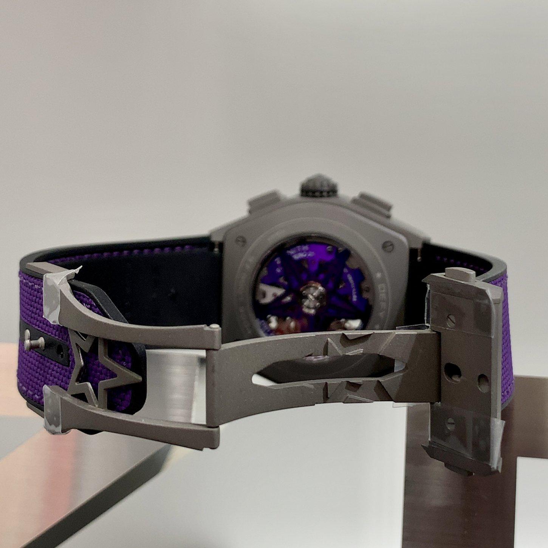 IMG_8392 気高いヴァイオレットカラーに引き付けられる『デファイ エル・プリメロ21』 - DEFY