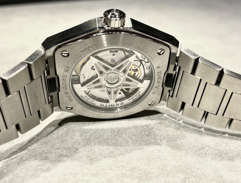 ホワイトダイヤモンドの透明感ある輝きが上品でリッチな印象に!『デファイ ミッドナイト』 - DEFY  VSTE9262