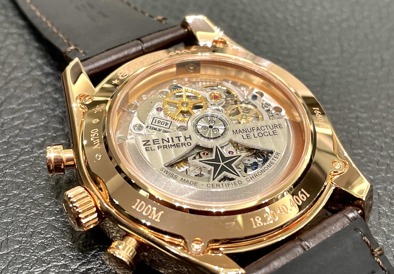 一生モノの時計に金無垢はいかがですか?『クロノマスター オープン』 - CHRONOMASTER |IMG_6157
