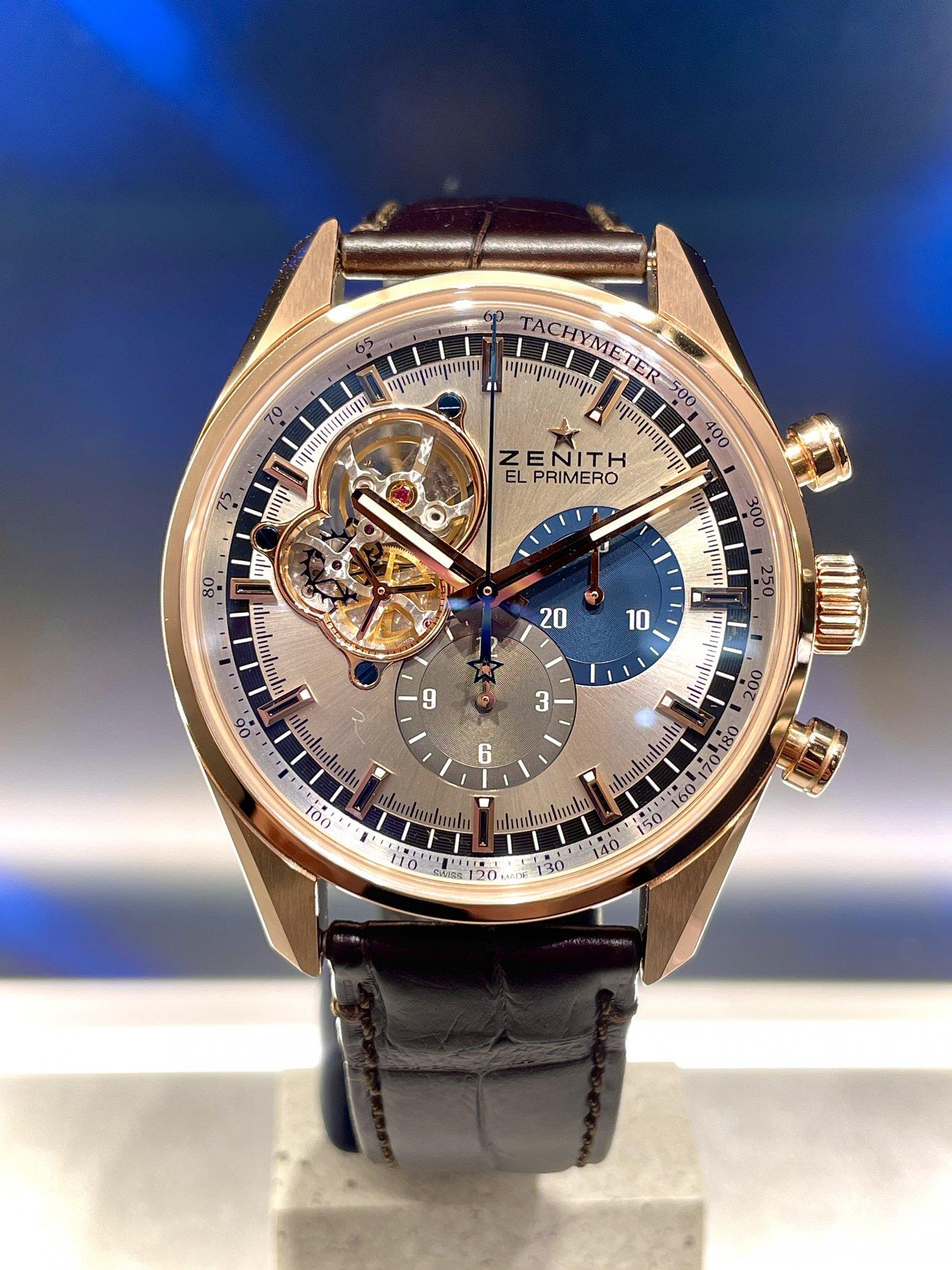 一生モノの時計に金無垢はいかがですか?『クロノマスター オープン』 - CHRONOMASTER |IMG_6175