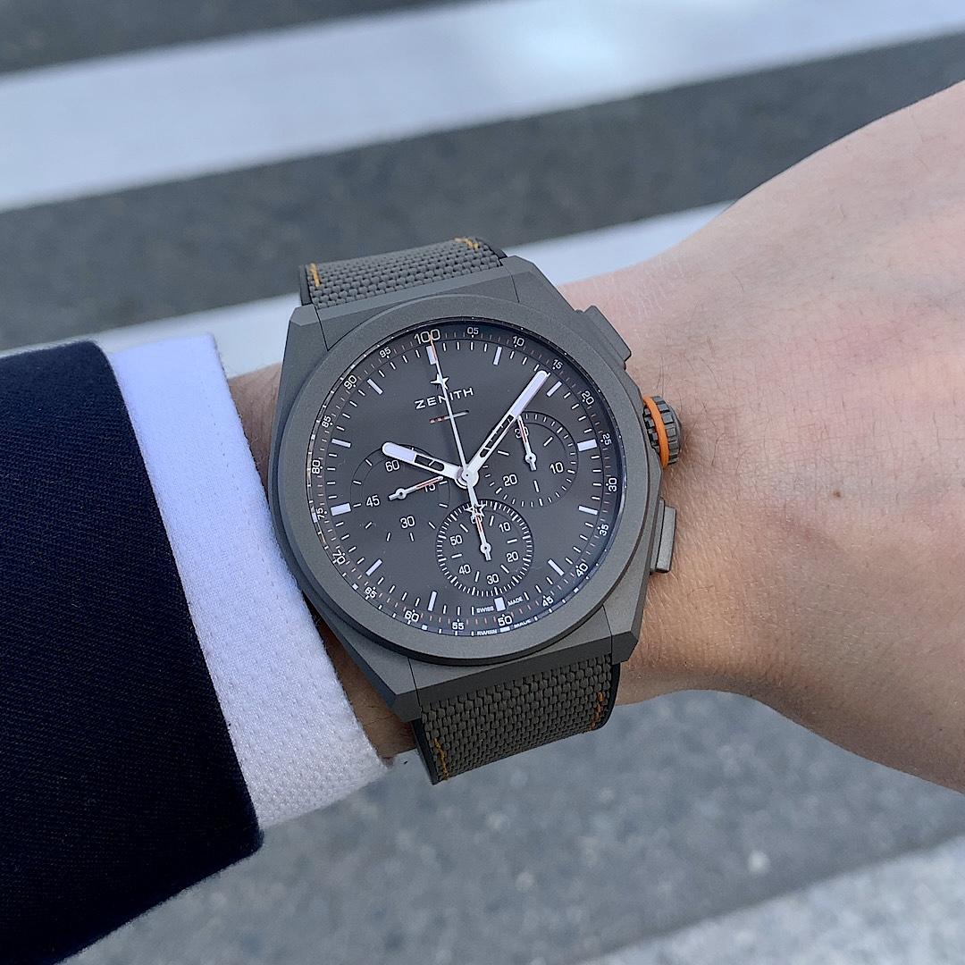 ディフェンダーのDNAを腕時計に『デファイ エル・プリメロ21 ランドローバー エディション』 - DEFY  IMG_9662