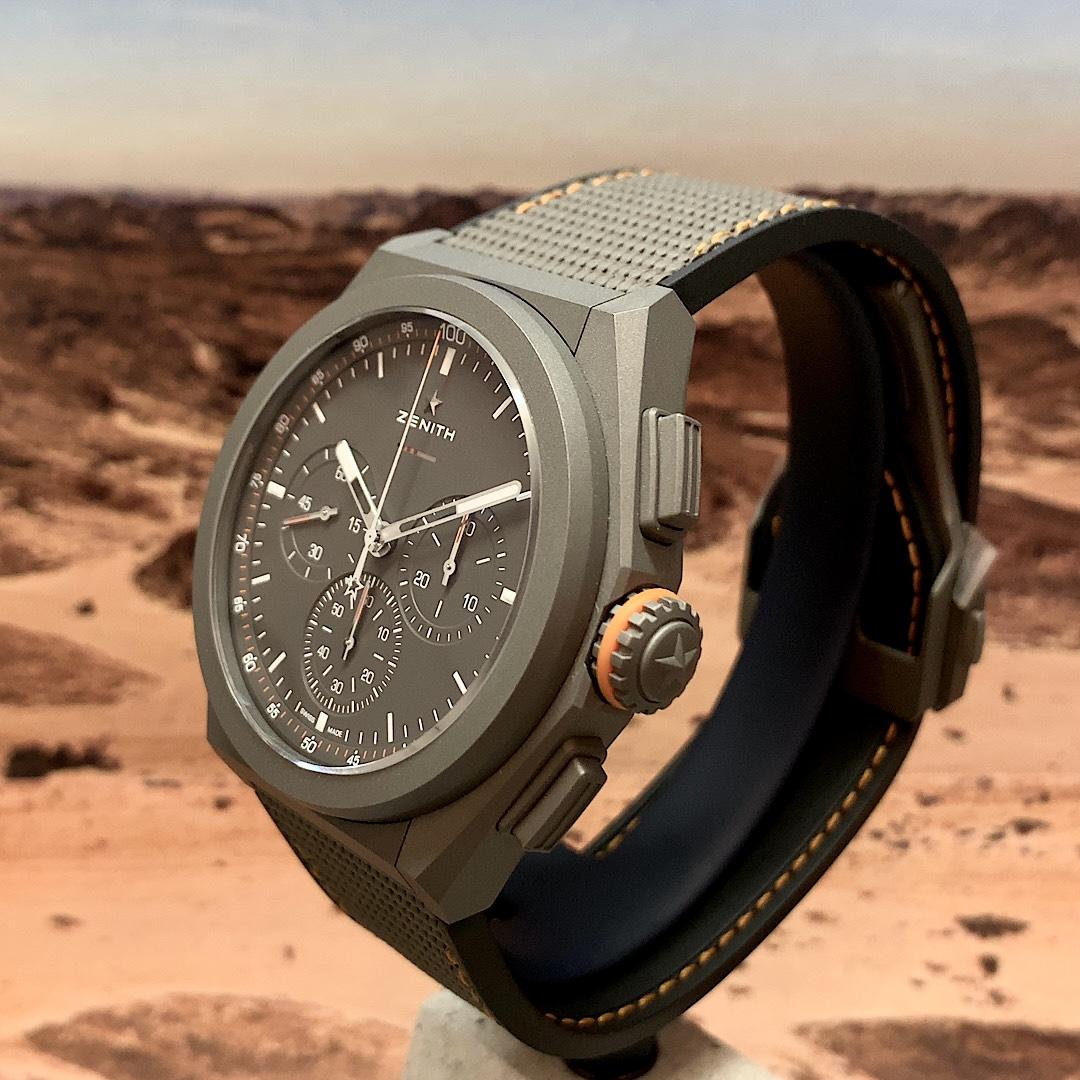 ディフェンダーのDNAを腕時計に『デファイ エル・プリメロ21 ランドローバー エディション』 - DEFY  IMG_9665