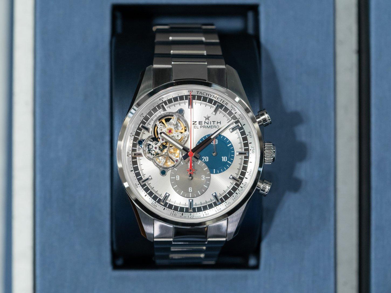 一生物の時計に長くご愛用できる定番モデルはいかがですか?『クロノマスター エル・プリメロ オープン』 - CHRONOMASTER  DSC4359