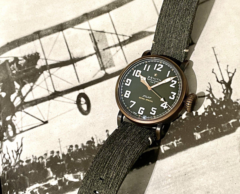 ブロンズ時計ならではのエイジングが楽しめる!!『パイロット タイプ20 アドベンチャー』 - PILOT |IMG_6628