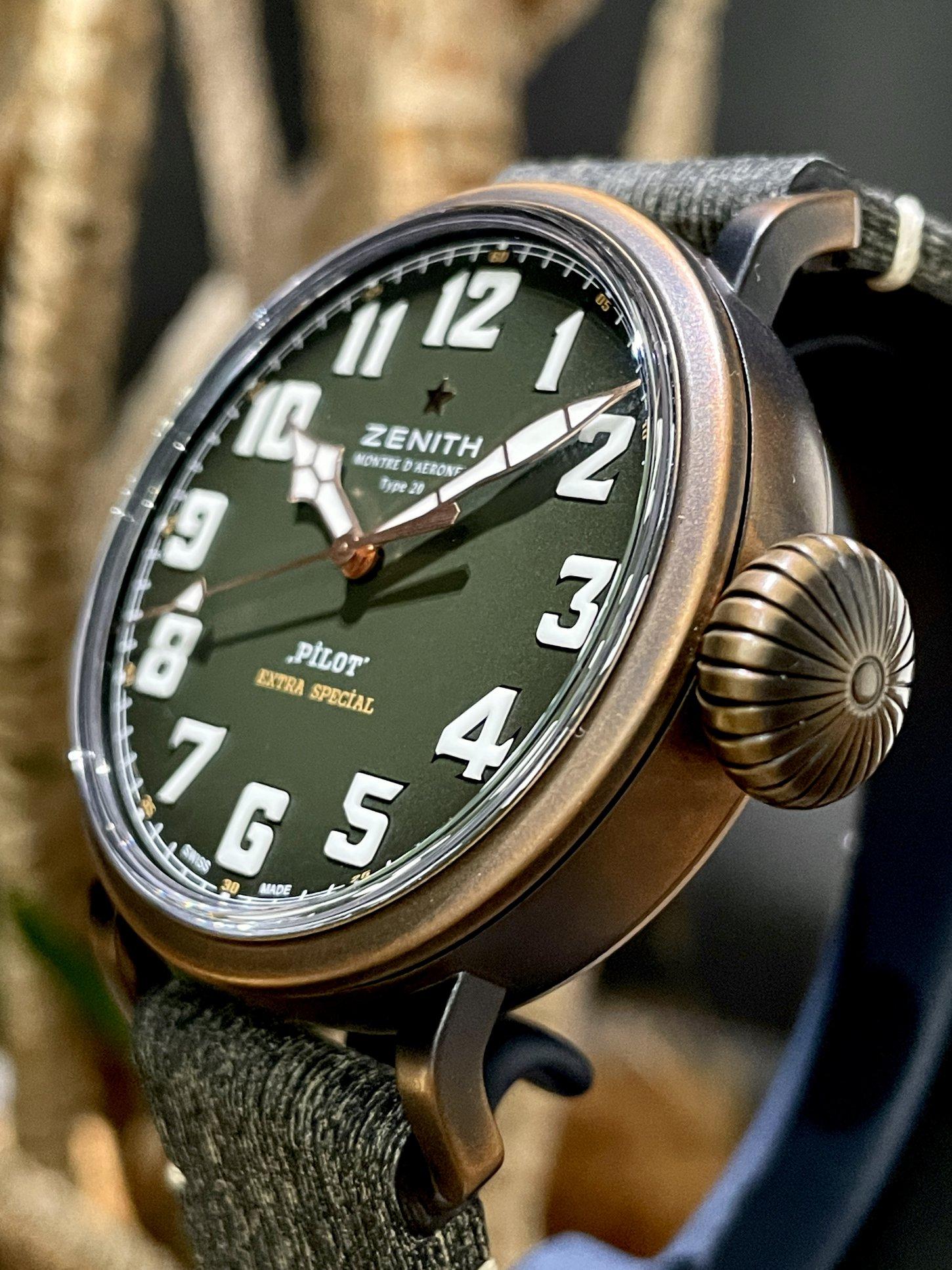 ブロンズ時計ならではのエイジングが楽しめる!!『パイロット タイプ20 アドベンチャー』 - PILOT |IMG_6636