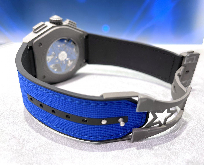 インパクトのあるブルーで腕元にアクセントを!『デファイ エル・プリメロ21 ウルトラブルー』 - DEFY |C162E1B5-ECEA-43FD-9E3F-AC5A4F60B0E1-002
