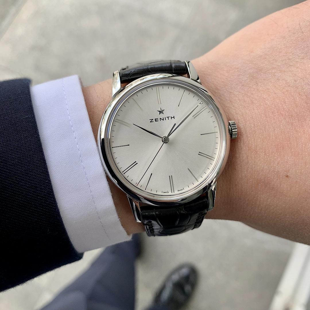 落ち着いた大人の腕時計はエリートで間違いなし!!『エリート クラシック』 - ELITE  IMG_1771
