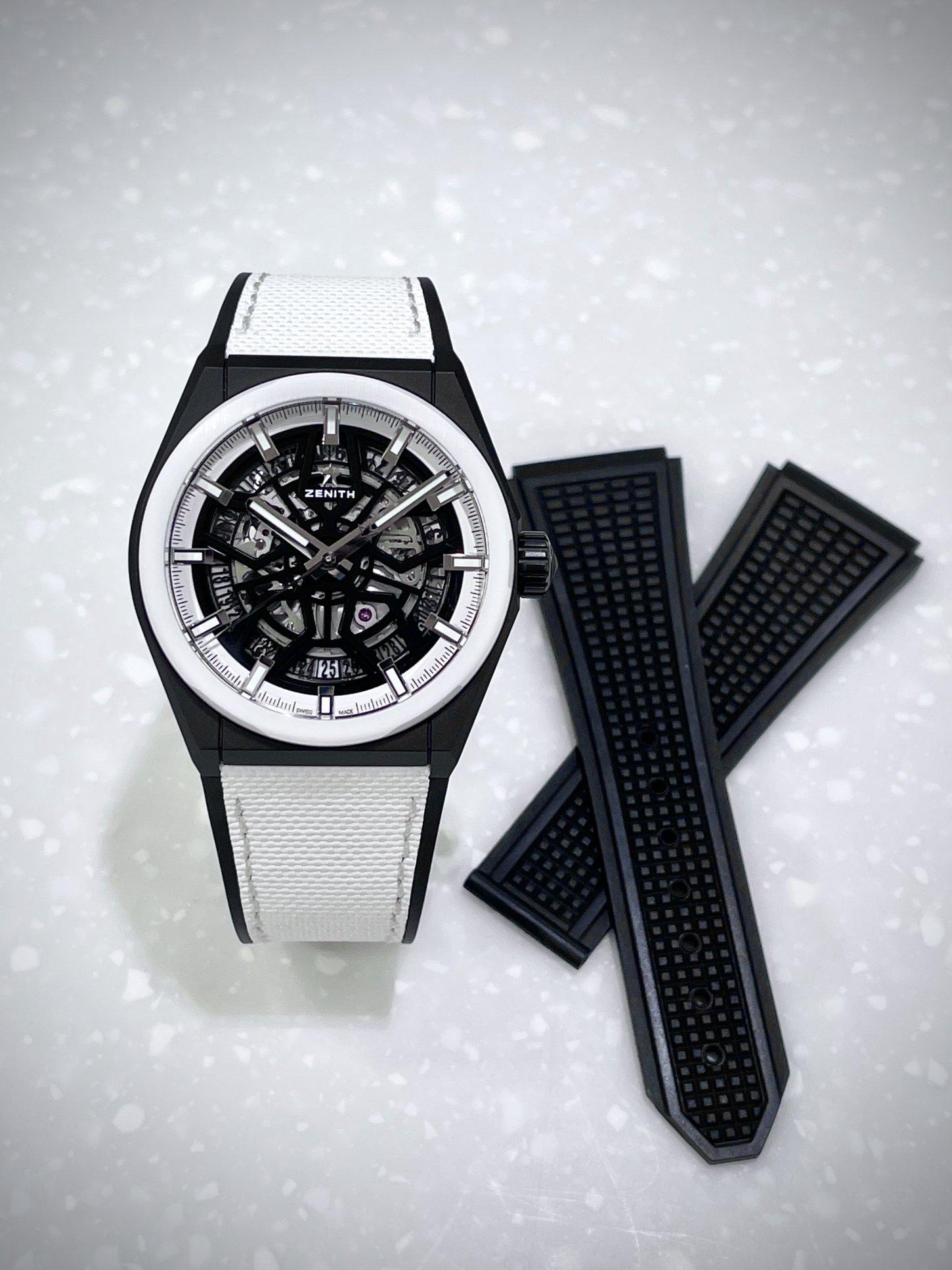ブラック&ホワイトの絶妙なバランスが美しい一本!!『デファイ クラシック ブラック&ホワイト』 - DEFY |A43187C5-478F-4201-9FED-5DABF1FAD5AD