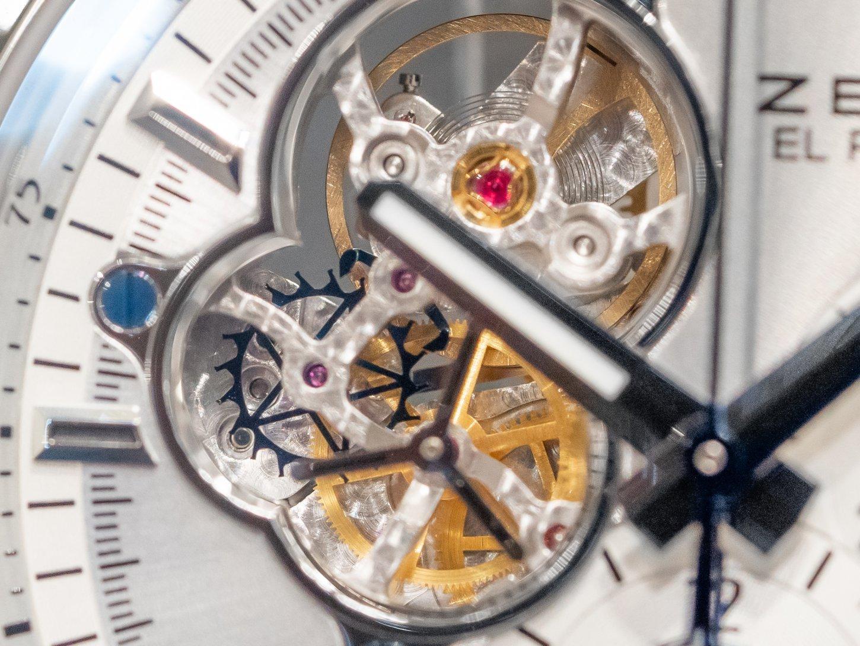 シンプルなカラーリングに映えるオープンワークが魅力!!『クロノマスター エル・プリメロ オープン』 - CHRONOMASTER  DSC5622